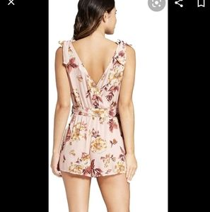 Xhilirstion floral print romper